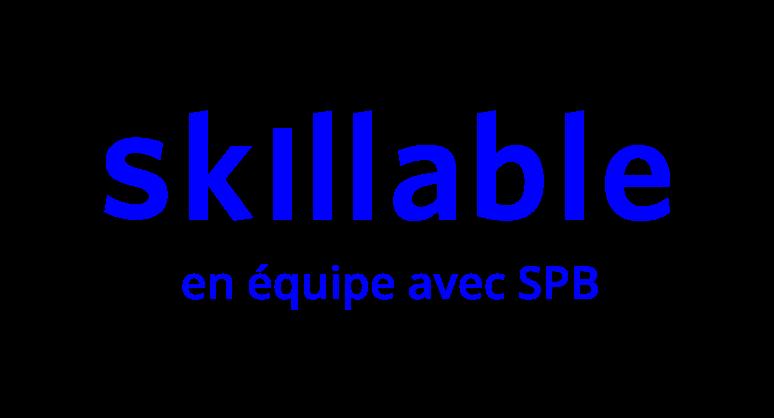 Skillable_SPB_logo_FR_bleu