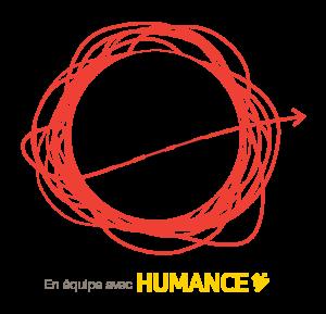 Logo InnoveLab en équipe avec Humance