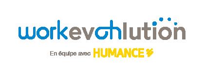 Logo Work EvOHlution en équipe avec Humance